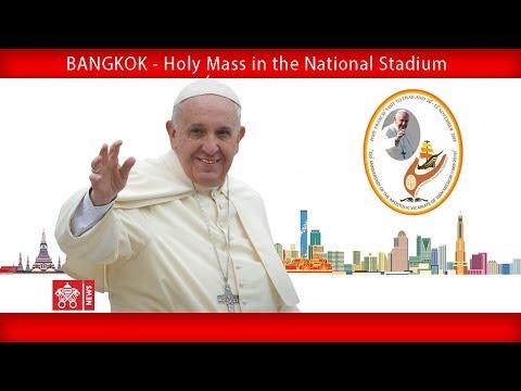 Pope Francis-Bangkok-Holy Mass 2019-11-21