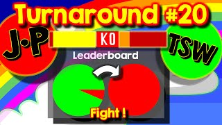 Agario Team Mode Turnaround #20,  last man standing, how many times can you eat the same cell?
