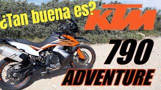 KTM 790 Adventure PRUEBA TEST REVIEW