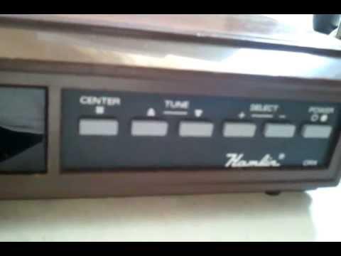 Hamlin Cable TV Converter - Model CRX-5000-3 vintage