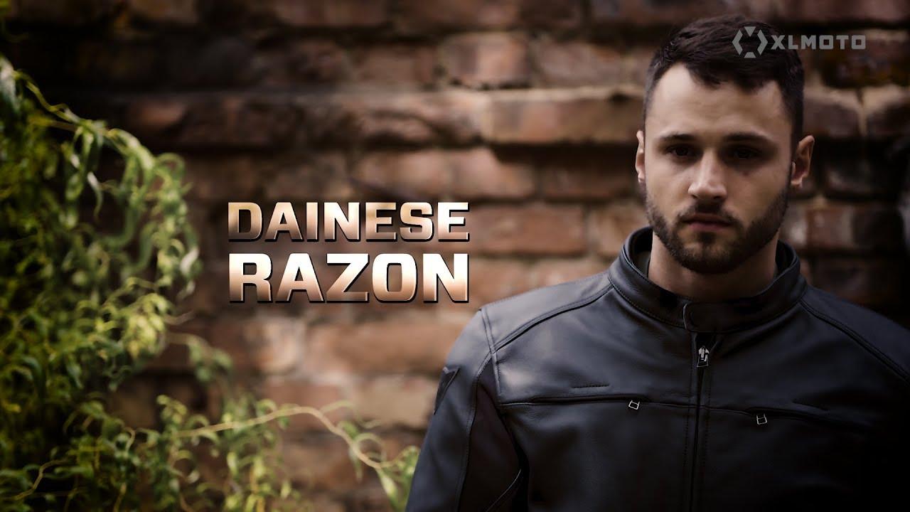Skinnjakke Dainese Razon Perf. Svart