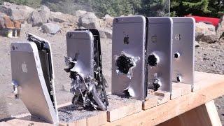 Mira cuántos iPhones se necesitan para detener una bala de AK-47