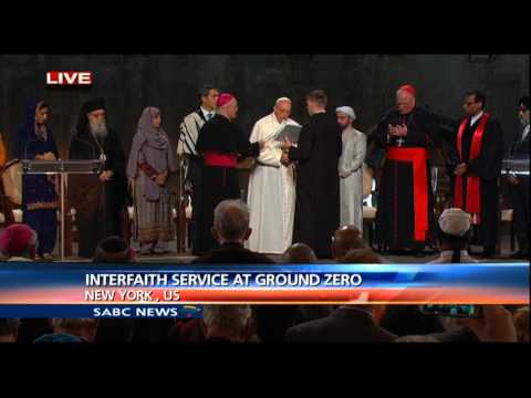 Interfaith Service held at Ground Zero