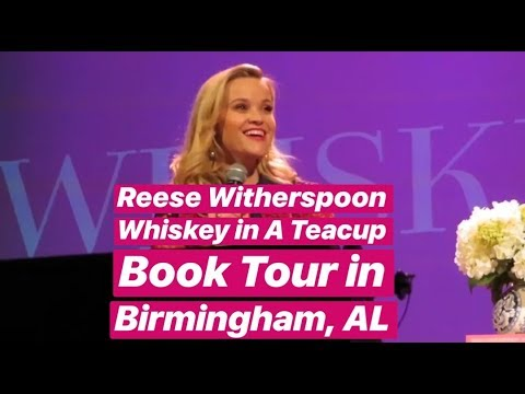 Reese Witherspoon Whiskey in a Teacup Book Tour Stop in Birmingham, AL