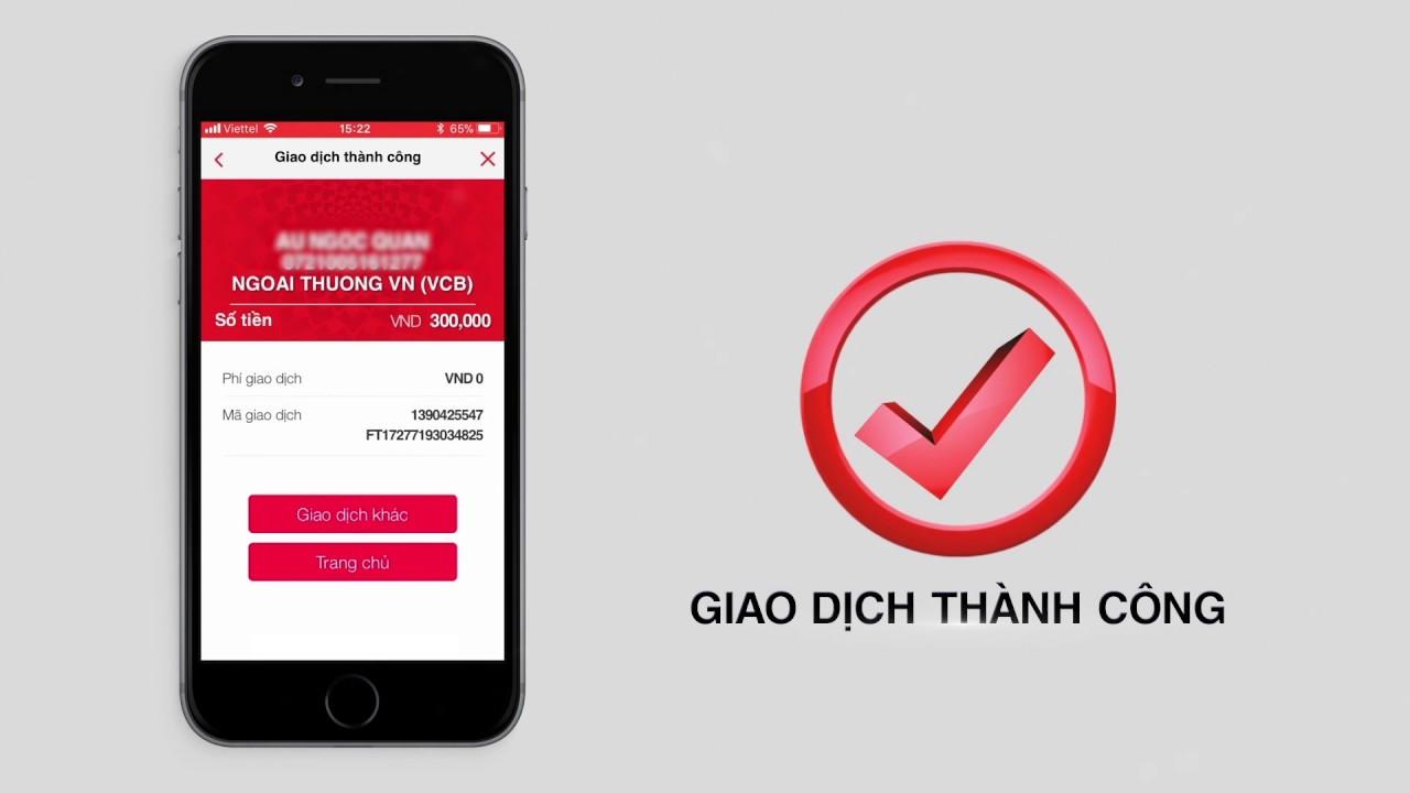 Hướng dẫn chuyển khoản liên ngân hàng trên ứng dụng F@st Mobile