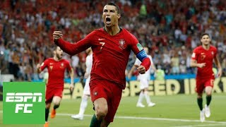 Cristiano Ronaldo's stunning hat trick earns Portugal 3-3 draw with Spain in 2018 World Cup | ESPN thumbnail