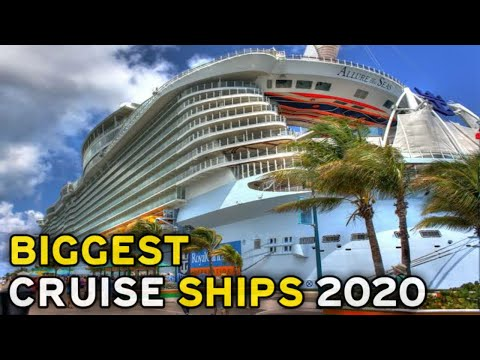 Top 5 Biggest Cruise Ships In The World 2020