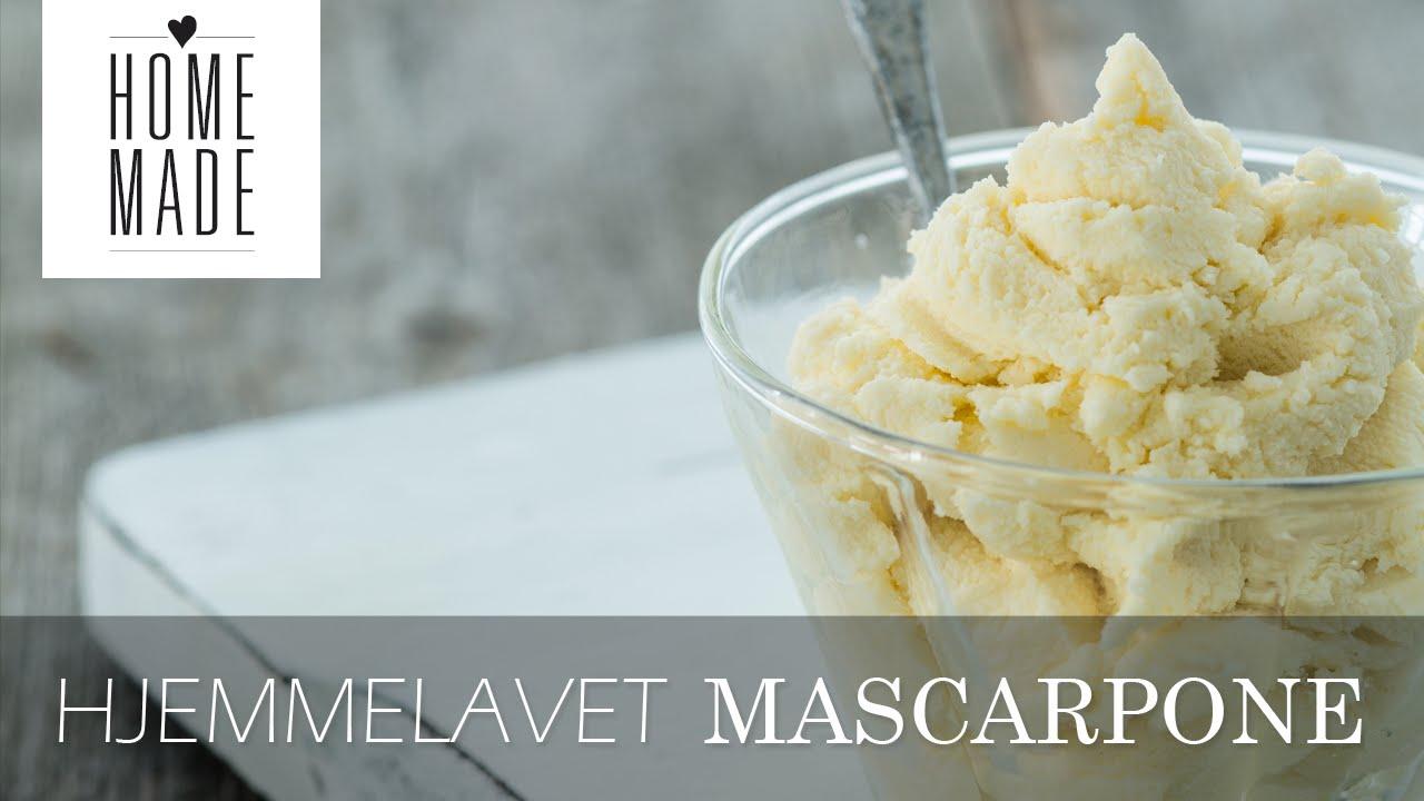 hjemmelavet mascarpone