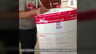 Free Clothes Giveaway to Philippines | Third Parcel | March-April 2018