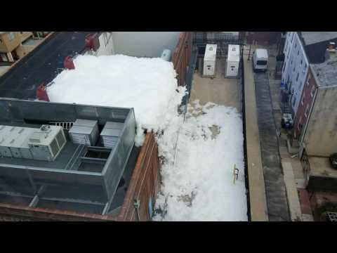 Peco substation foam party