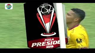 Piala Presiden 2018: Gol Bunuh Diri PSMS Medan (0) vs Sriwijaya FC (1)