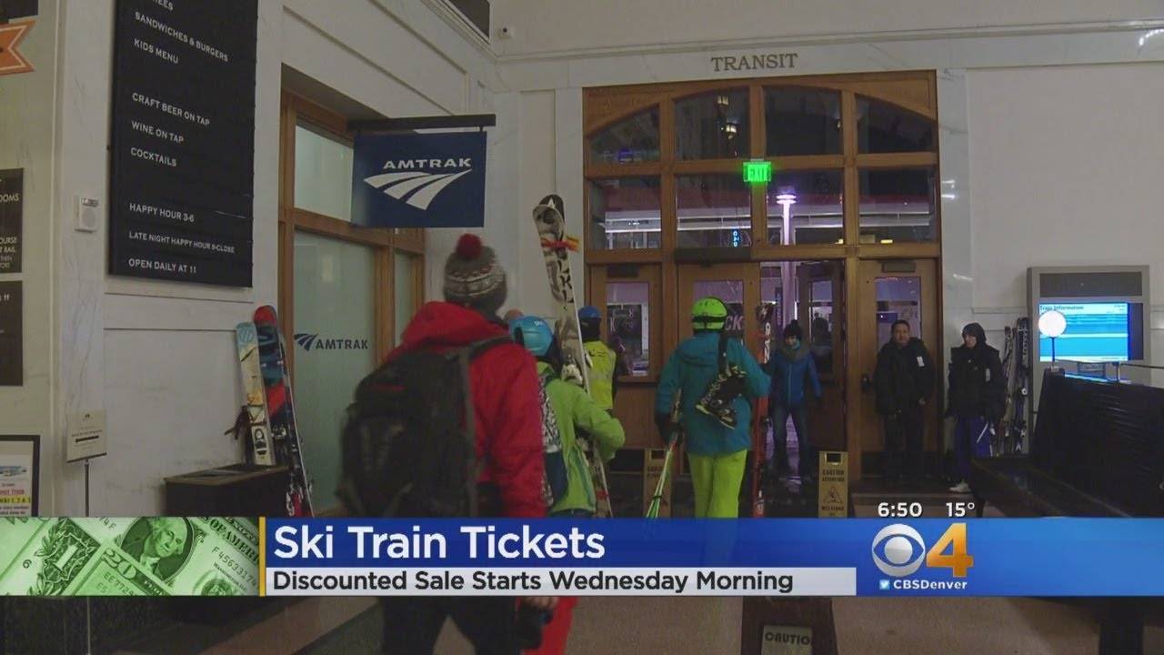 Discounted Winter Park Ski Train Tickets On Sale