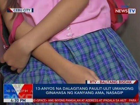 BP: 13-anyos na dalagitang paulit-ulit umanong ginahasa ng kaniyang ama, nasagip sa Cebu City