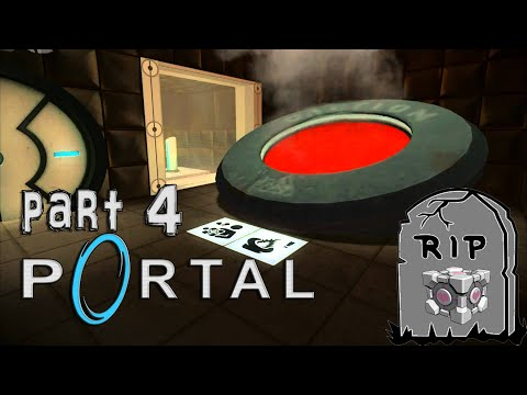 ...CAN YOU HEAR IT TALKING?? [Portal Part 4 - Let's Play]