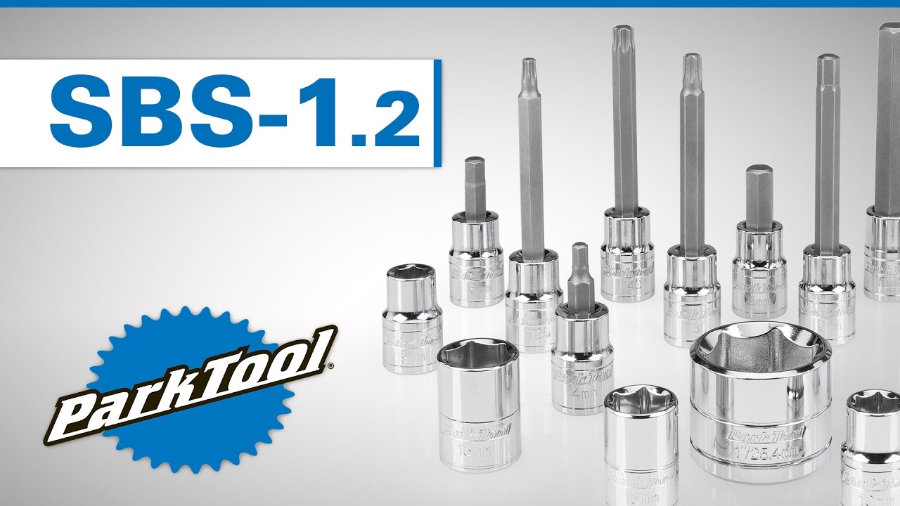 NEW Park Tool SBS-1.2 Socket and Bit Set