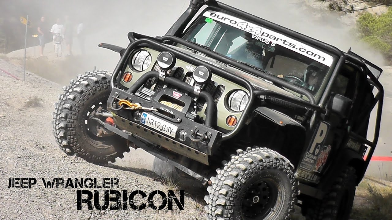 JEEP Wrangler 4x4 -OffRoad Compeion (trial 4x4) - YouTube