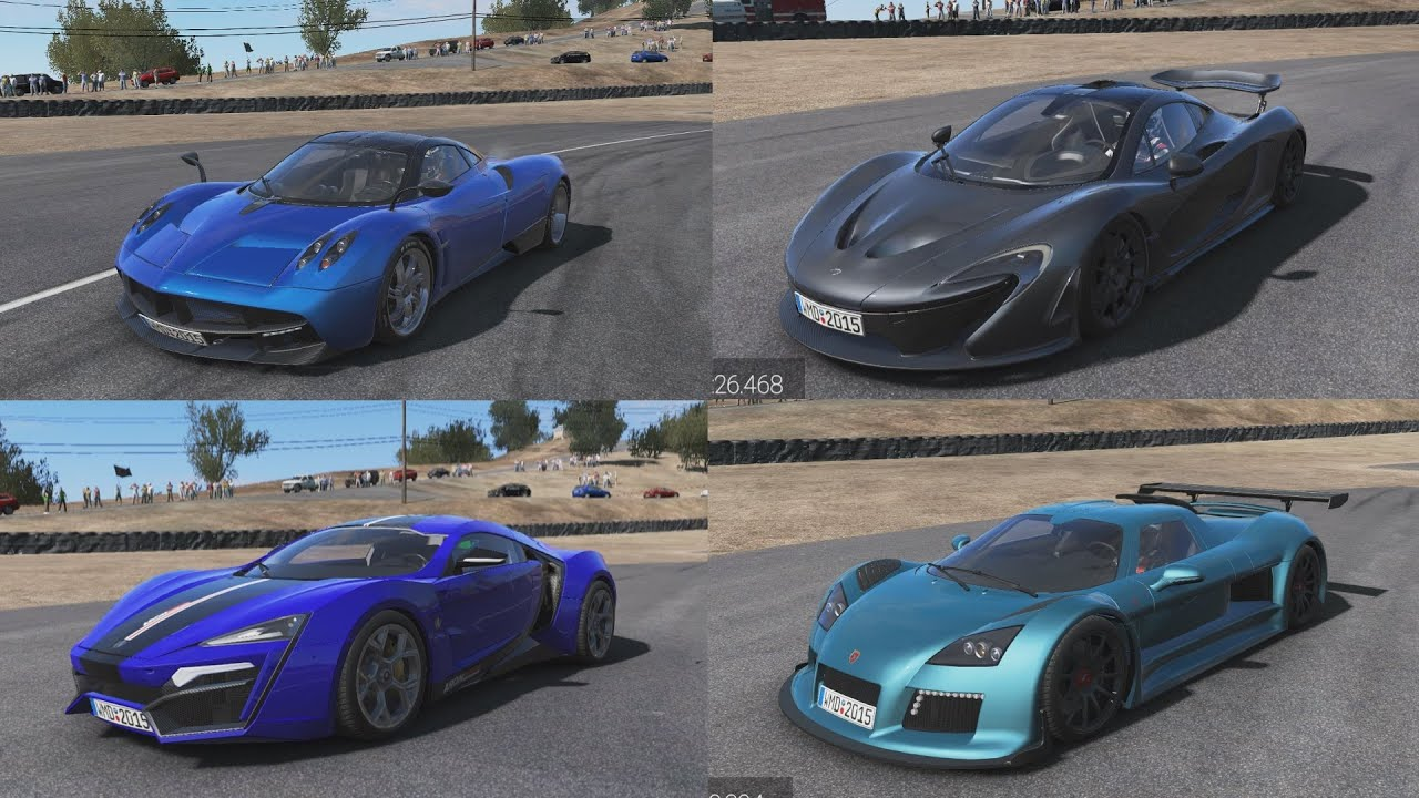 Best Hypercar In Project Cars Versus Youtube