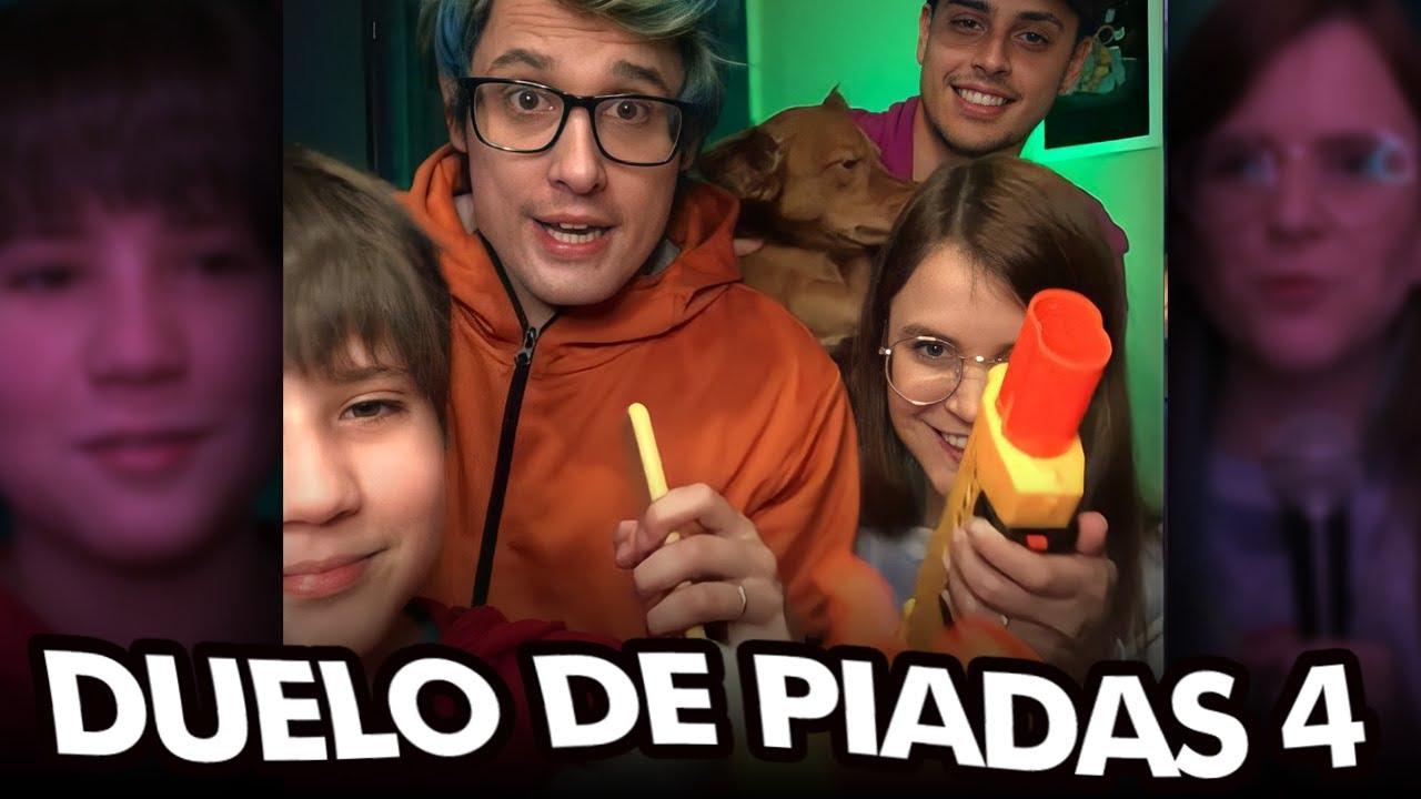 DUELO DE PIADAS! Feat Juliano Coração - CANAL DO CLEPTON