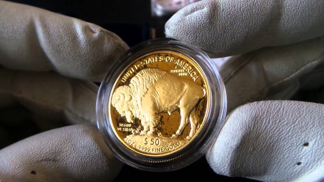 American Gold Buffalo Coins Proof And Bu Youtube