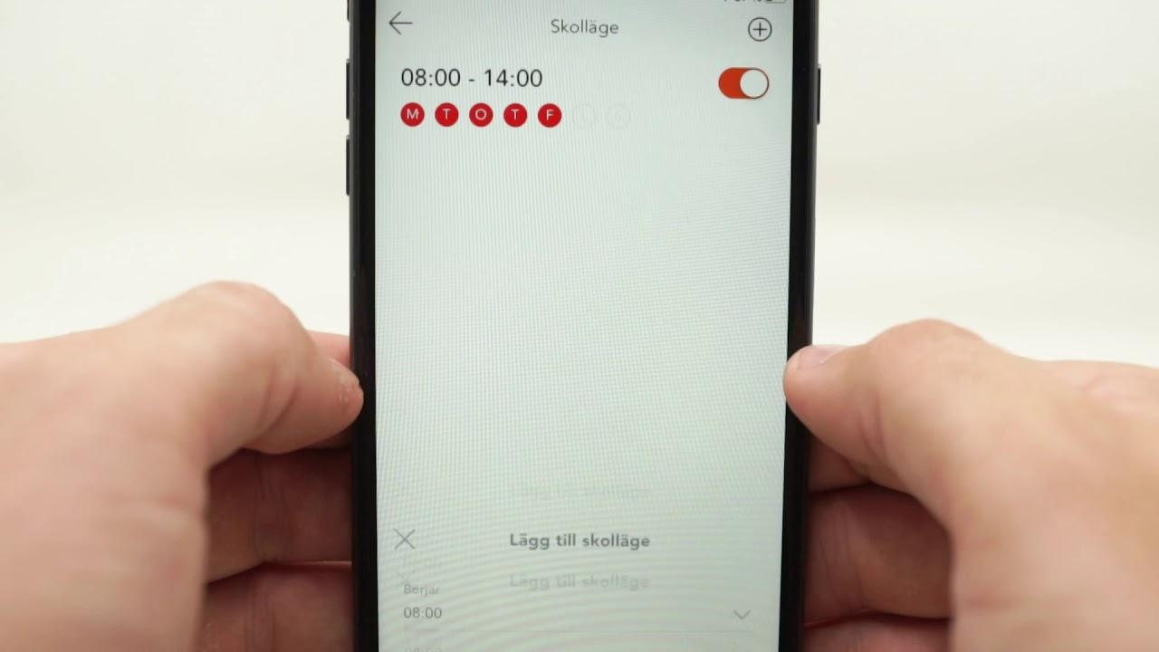 XPLORA 4 - Appens funktioner på svenska