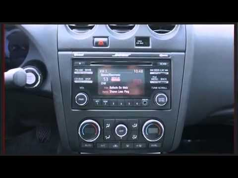 2012 Nissan Altima V6 Manual 3.5 SR FWD - YouTube