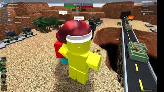Roblox Tower Battles but its a Dead End Valley Triumph (with help of golden commando)