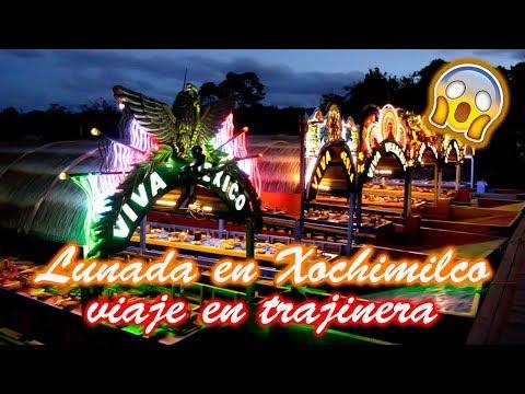 Lunada en las Trajineras de Xochimilco  Omares Tal Cual