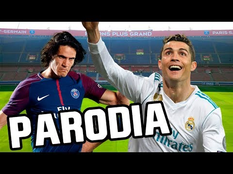 Canción PSG vs Real Madrid 1-2 (Parodia Bad Bunny - Amorfoda)