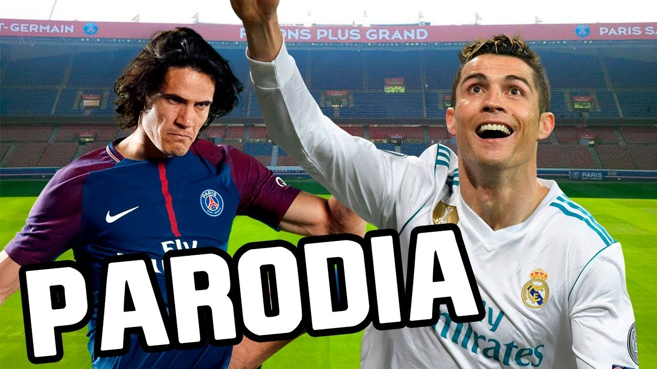Canción PSG vs Real Madrid 1-2 (Parodia Bad Bunny - Amorfoda)