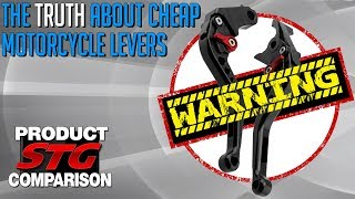The Truth About Cheap Motorcycle Levers   Sportbike Track Gear