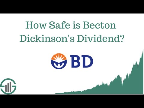 How Safe is Becton Dickinson's Dividend?