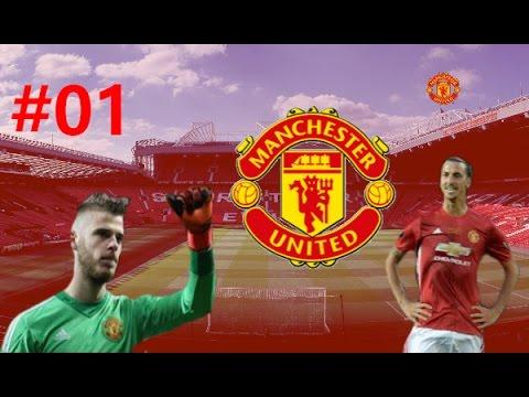 FIFA 17 CZ | Kariéra za Manchester United #01| Přestupy