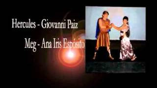 Programa de Mano Digital Hercules el Musical 5ta Columna Guatemala