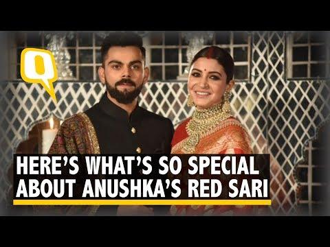 Meet the Men Behind the Red Banarasi Saree Anushka Sharma Wore  | The Quint