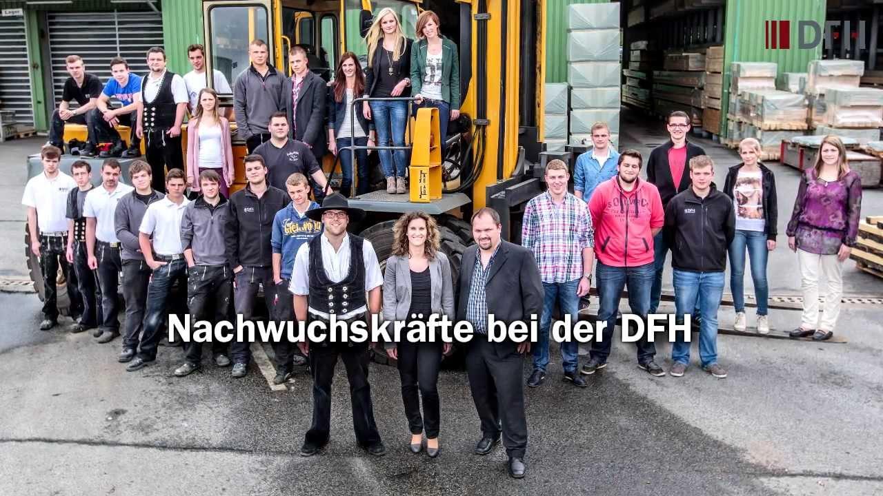 Die DFH Deutsche Fertighaus Holding AG als Arbeitgeber - YouTube