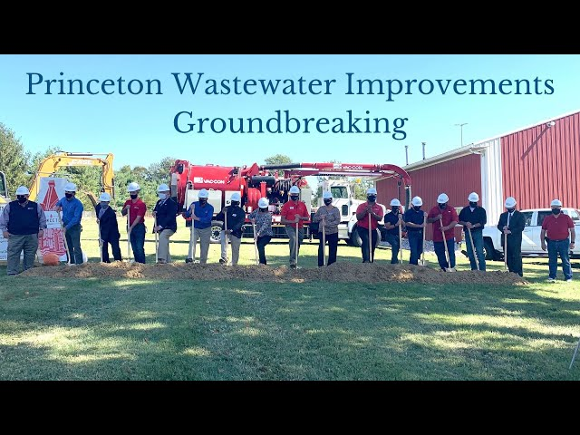 Princeton, Indiana Wastewater Improvements Groundbreaking