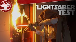 2500° LIGHTSABER CUTS THROUGH DOOR!