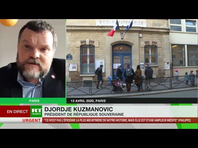 Djordje Kuzmanovic : «Les professionnels de santé disent que la réouverture des écoles est absurde»
