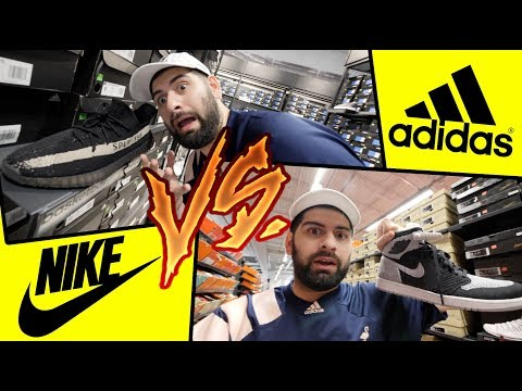 HYPEBEAST SHOPPING AT NIKE + ADIDAS OUTLET!