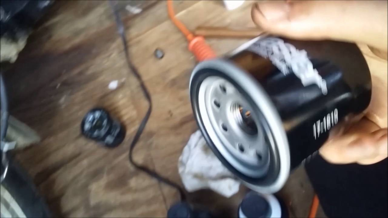kawasaki vulcan 800 oil & filter change - youtube kawasaki vulcan fuel filter