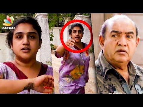 Actor Vijayakumar Lodges Police Complaint on his Daughter Vanitha | Hot News