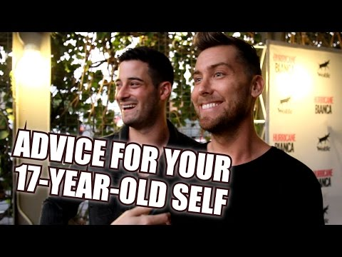 Advice For Your 17-Year-Old Self | Bianca Del Rio, Lance Bass & More! - Hurricane Bianca