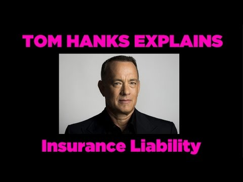 Tom Hanks Explains Insurance Liability