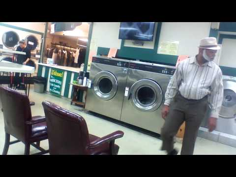 Mr. Smith at the Laundry mat