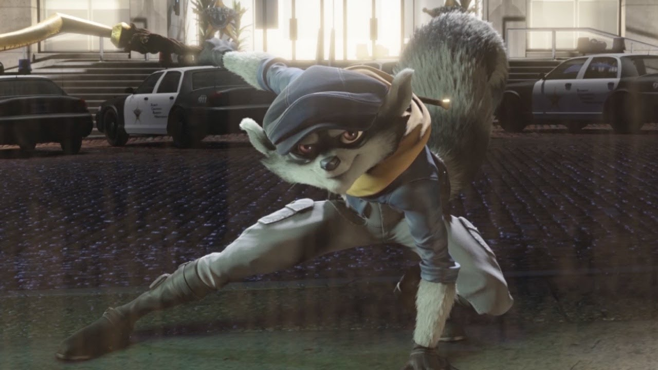 sly cooper animated tv