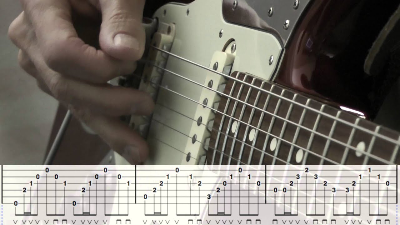 House Of The Rising Sun Guitar Arpeggio Wtabs Youtube