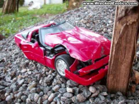 Sign And Drive 45 >> wrecked toy cars 0001 - YouTube