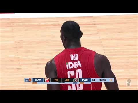 Michael Ojo with an example of MONSTER DUNK! (Crvena zvezda mts - Partizan NIS, 6.4.2019)