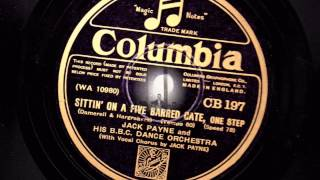 1930 Vintage - Jack Payne and his BBC Dance Orchestra