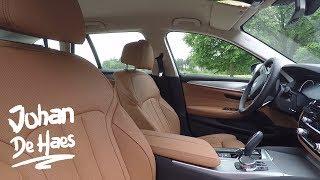 2017 BMW 5 Series Touring Interior / Gesture Control / Multifunction instrument display